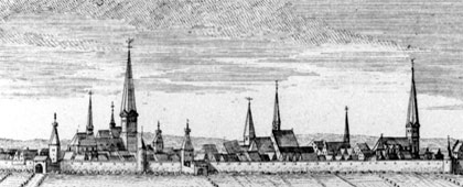 Reichsstadt Dortmund (Ausschnitt), um 1735