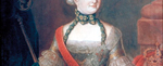 Bildnis der letzten Herforder Fürstäbtissin Prinzessin Friederike Charlotte von Preußen (Ausschnitt)