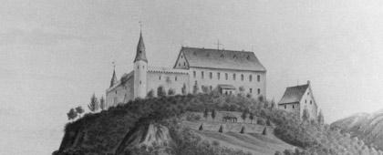 Burg Hohenlimburg, 1826 (Ausschnitt)
