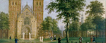 Domplatz in Münster (Ausschnitt), 1783