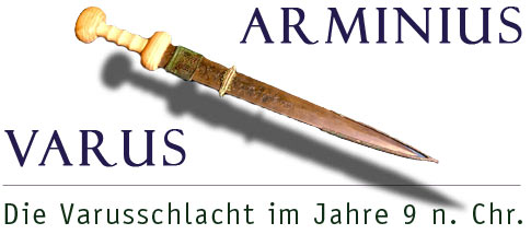 Varusschlacht Karte.Internet Portal Westfalische Geschichte Arminius Varus