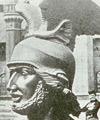 Arminius / Kopf des Hermannsdenkmals