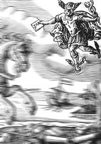 Ausschnitt aus: 'Neuer / Auß Münster vom 25. deß Weinmonats im Jahr 1648. abgefertigter Freud- und Friedenbringender Postreuter / Münster, Westfälisches Landesmedienzentrum/O. Mahlstedt, 10_7248