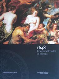 Einband: Ausstellungskatalog der 26. Europaratsausstellung '1648 - Krieg und Frieden in Europa'