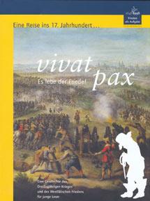 Cover: Begleitbuch zur Ausstellung 'vivat pax - Es lebe der Friede!'