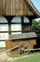 Schäferkarren und Schäferkammer auf dem lippischen Meierhof im Westfälischen Freilichtmuseum Detmold