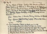 Beispiel für eine handschriftliche Karteikarte; die Vergrößerungsansicht entspricht der Originalgröße im Projekt