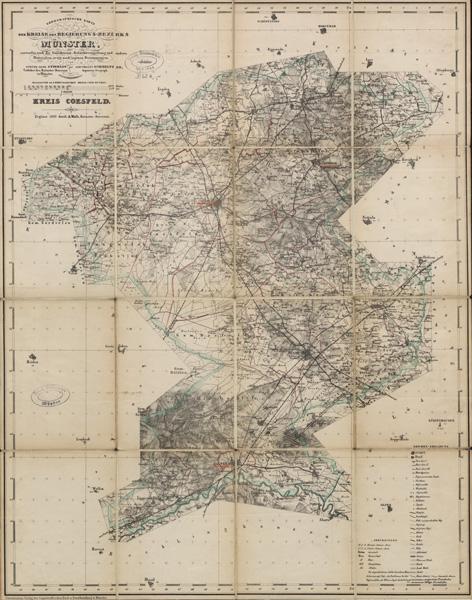 Topographische Karte Nrw.Bildteil Anzeige