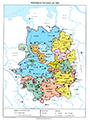 Westfälische Territorien um 1500, 1980