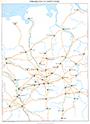 Mittelalterliche Fernverkehrswege, 1980