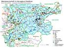 Übersichtskarte zum Bergbau im Herzogtum Westfalen und angrenzenden Territorien vor 1800, 2012