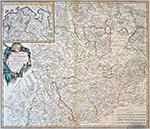 Cercle de Westphalie divisé en tous ses Etats et Souverainetés, 1751