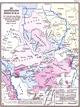 Die westfälischen Länder im 18. Jh. - mit Andeutung älterer, vornehmlich seit ca. 1200 in Bündnissen erwähnter Herrschaften, 1955