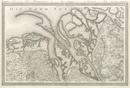 Topographische Karte in XXII Blaettern den grösten Theil von Westphalen enthaltend [...], Section II: Karte des Nordöstlichen Theils von Ostfriesland, der Herrschaften Jever und Kniphausen, so wie des Amts Ritzebüttel und eines Theils von Hannover und Oldenburg, [1805-1813]
