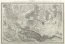 Topographische Karte in XXII Blaettern den grösten Theil von Westphalen enthaltend [...], Section IX: Karte der Gegend von Osnabrück, Lübke und vom Dümmer-See, so wie eines Theils von Oldenburg und Hannover, [1805-1813]