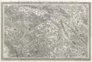 Topographische Karte in XXII Blaettern den grösten Theil von Westphalen enthaltend [...], Section XIV: Karte eines Theils von Hannover, Braunschweig, Lippe-Detmold, Hessen-Schaumburg, Minden, Ravensberg, Paderborn, Corvey und der Grafschaft Pyrmont, [1805-1813]