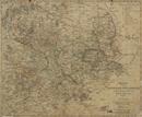 Charte vom Königreich Westphalen, theils nach le Coq, theils nach andern bewährten Ortsbestim[m]ungen, 1808