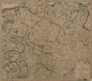 Charte vom Königreich Westphalen nebst angränzenden Ländern, 1809