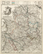 """La Westphalie suivant les derniers observations de Homann et de Hubener [mit Befestigungsplänen von Münster, Marsberg (""""Statberg""""), Paderborn und Oldenburg sowie der Position der französischen Armee 1741 in ihren Winterquartieren], 1742"""