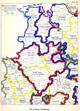 Die politische Gliederung [Nordwestdeutschlands], 1931