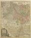 Der Rhein, die Maas und Mosel, mit den anliegenden Ländern des Ober-Chur- und Nieder-Rheinl[ands], wie auch des Burgundischen Kreises ingl[eichen] Elsass und Lothringen usw. / Carte geographique contenat le Cours du Rhin, de la Meuse et de la Moselle avec les Cercles du haut- et bas-Rhin, le Duchée de Lorraine et d