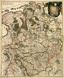 Tabula nova atque exacta Westphaliae, finitimas quopque ditiones Prafecturas et Satrapias eleganter comprehendens / [Eine neue und genaue Karte von Westfalen, welche auch die benachbarten Herrschaftsgebiete, Grafschaften und Fürstentümer korrekt enthält], [um 1650]