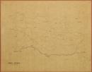 [Gewässerkarte mit Gemeindegrenzen des Regierungsbezirks Münster, Blatt 10]: Kreis Beckum, [um 1825]