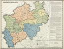 Verwaltungsatlas des Landes Nordrhein-Westfalen, [Karte 6]: Handwerkskammern, [1952]