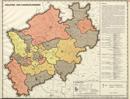 Verwaltungsatlas des Landes Nordrhein-Westfalen, [Karte 7]: Industrie- und Handelskammern, [1952]