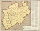 Verwaltungsatlas des Landes Nordrhein-Westfalen, [Karte 8]: Kreissiedlungsämter, [1953]