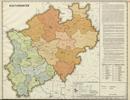 Verwaltungsatlas des Landes Nordrhein-Westfalen, [Karte 9]: Kulturämter, [1953]