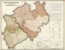 Verwaltungsatlas des Landes Nordrhein-Westfalen, [Karte 13]: Versorgungsämter und orthopädische Versorgungsstellen, [1951]