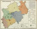 Verwaltungsatlas des Landes Nordrhein-Westfalen, [Karte 14]: Verwaltungsbezirke, [1951]
