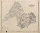 Karte vom Königlich Preussischen Regierungs-Bezirk Minden, [Blatt 6]: Karte vom Kreise Paderborn im Regierungs-Bezirk Minden, 1843