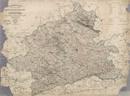 Topographische Karte des Regierungs-Bezirks Münster. Nach den Karten des Grundsteuer-Katasters und andern authentischen Materialien, 1848