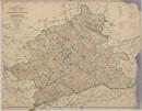 Topographische Karte des Regierungs-Bezirks Münster. Nach den Karten des Grundsteuer-Katasters und andern authentischen Materialien, 1876 / 1848