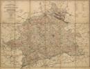 Topographische Karte des Regierungs-Bezirks Münster. Nach den Karten des Grundsteuer-Katasters und andern authentischen Materialien, 1883