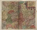 Westphaliae Totius Finitimarumque Regionum Accurata Descriptio, Westphalen / [Genaue Darstellung von ganz Westfalen und von den Nachbargebieten], 1587 [1594]