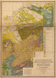 Geologische Übersichtskarte der Rheinprovinz und der Provinz Westfalen im Auftrage des Königl[ichen] Ministers für Handel, Gewerbe und öffentliche Arbeiten Herrn Graf von Itzenpltz bearbeitet [...] nach der in den Jahren 1855 bis 1865 im Maassstabe von 1.80000 in 54 Sectionen herausgegebenen geologischen Karte beider Provinzen, 1866