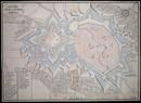 Grundris der Stadt und Citadell Coesfeld, wie selbes bei Zeiten Christophori Bernardi [von Galen] in A[nn]o 1652 bis 1656 erbauet, aber 1668 sede vacante wieder demolirt worden, [17. Jh.]