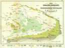 Geognostische Uebersichtskarte der Kreidebildungen Westphalens, 1857