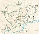 Die Stadtlandwehr und die Feldmark von Werne nach J. Lappe, 2004