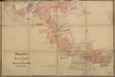 Vreden-Ammeloe: Lageplan [Flurkarte] des Provinzialbesitzes in der Gemeinde Ammeloe, 1909-01