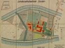 Dorsten: Landesaufnahmeheim Dorsten [Flurkarte, mit Kartierung der Nutzungsarten], 1938-10