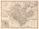 Die Provinz Westfalen, eingetheilt in die Regierungsbezirke Münster, Minden & Arnsberg [mit Nebenkarten: Gegend um Münster (1 : 200 000); Neu Salzwerk und Oeyenhausen