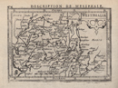 Westphalia. Description de Westphale / [Westfalen. Beschreibung von Westfalen], [1618]
