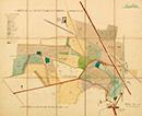 Münster: Lageplan des Gutes Schulze-Brüning bei Kinderhaus [mit Einzeichnung der Nutzungsarten], 1913-02-20