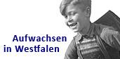 Logo des Projekts 'Aufwachsen in Westfalen''