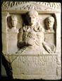 Grabstein des Marcus Caelius, gefunden vermutlich am Fürstenberg bei Xanten / Bonn, Rheinisches Landesmuseum / Bonn, Rheinisches Landesmuseum