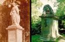 Kriegerdenkmäler: Ästhetische Kraft und Trauer (Ruhender Löwe, Dortmund 1869; Trauernde Germania, Münster 1872)  / Münster, Stadtarchiv/F. Hundt (1b) / Münster, LWL-Medienzentrum für Westfalen/O. Mahlstedt (1a)